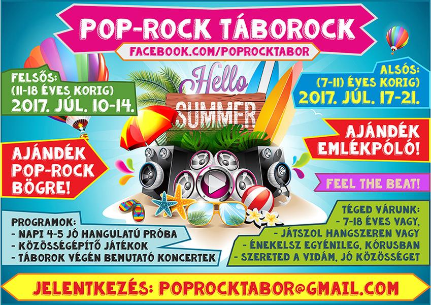 Pop-Rock Táborock – 2017